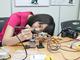 太田智美がなんかやる:組み立てたアンプキットを「スピーカー」と「ステレオジャック」につなぐ
