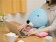 ぬいぐるみ型「ぼのぼの PCクッション」登場 5616円