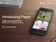 Facebook、FlipboardのようなiPhoneアプリ「Paper」の提供を終了