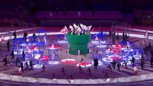 「安倍マリオ」にドラえもん——日本パートが話題のリオ五輪閉会式、NHKがさっそくネット配信