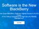 BlackBerry、端末開発を外部委託し、ソフトウェア企業に