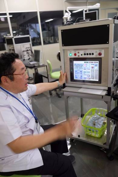 福岡歯科大学ロボット