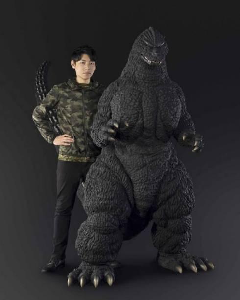 大型フィギュア「Human Size ゴジラ(1991 北海道 ver.)」