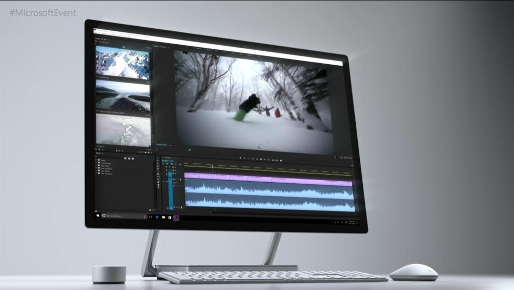 「surface Studio」発表 Microsoft初の液晶一体型デスクトップ Itmedia News