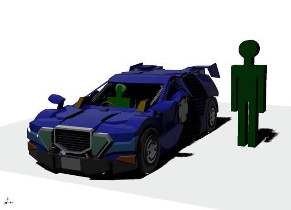 乗用人型変形ロボット「J-deite RIDE」