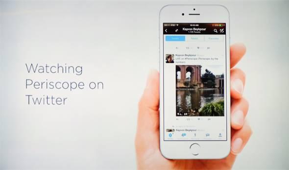 動画ライブ配信アプリ「Periscope」