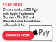 Apple Payでユニセフなど非営利団体への寄付が可能に(まず米国で)