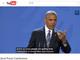 オバマ米大統領、SNSの虚偽ニュース問題にコメント