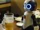 神田の居酒屋でロボットの実証実験 「飲みニケーションロボット席」設置