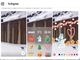 Instagram、「ストーリーズ」にスタンプなどの新機能 クリスマス限定版も