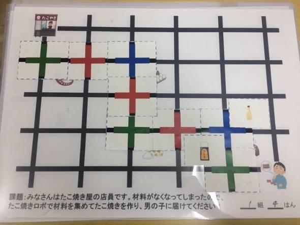 ロボットプログラミング「Ozobot」