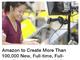 Amazon、米国で10万人の雇用創出を発表