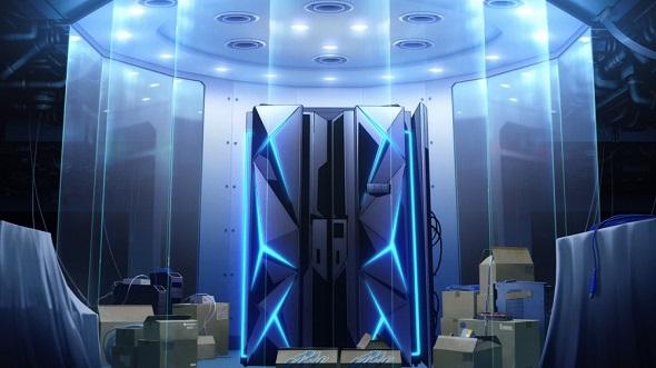 """映画「ソードアート・オンライン」に""""IBMっぽいサーバ""""が登場した理由 原作者「メインフレームにロマン感じる」"""
