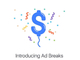 Facebook、ライブ動画に挿入する15秒CM「Ad Break」開始