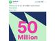 Spotifyの有料会員数が5000万人を突破