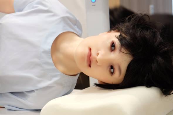 医療シミュレーターロボット「mikoto」(みこと)
