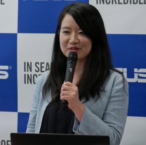 ASUS JAPANのTeng氏