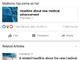 Facebook、虚偽ニュース対策でタップ前に「関連」リンクを表示するテスト