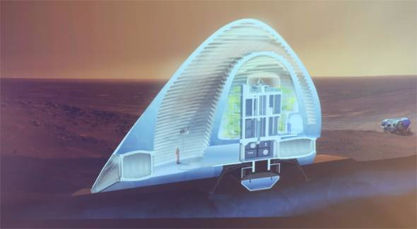 MARS ICE HOUSE