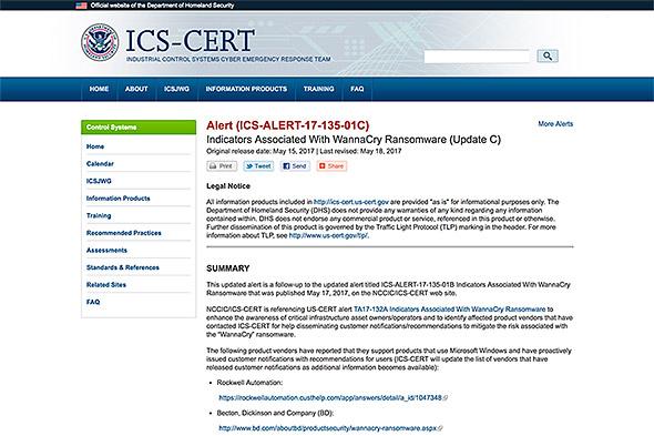 NCCIC/ICS-CERT