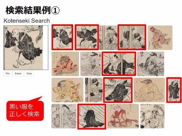 古典籍画像を検索できるシステム