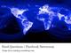 """Facebook、社会的責任に関する""""7つの難問""""を世に問うプロジェクト"""