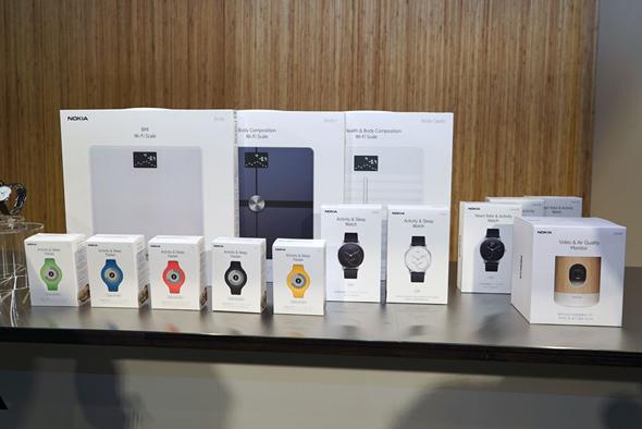 ff421c5a0c スマートフォンと連携するWi-Fi対応体重計や、海外で発売済みのウェアラブル活動量計などを、家電量販店やAmazon.co.jp、Apple  Storeなどで順次発売する。