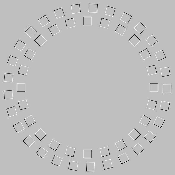 a571866d05f あなたはどう見える? 「静止画が動いて見える」不思議な錯視の世界 (2/2 ...