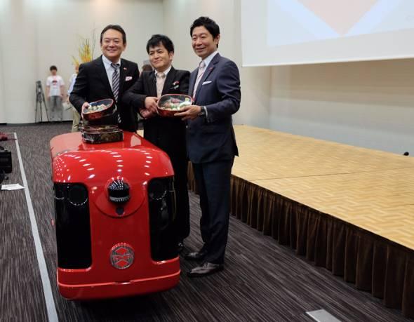 宅配ロボット「CarriRo Delivery」