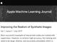 Apple、「機械学習ジャーナル」ブログ立ち上げ