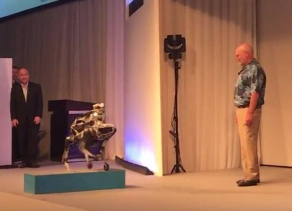 Boston Dynamicsが開発する小型ロボット「SpotMini」