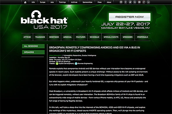 black hat USA 2017
