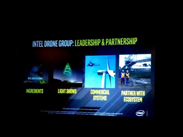 Intelがドローン事業で重点を置く4要素