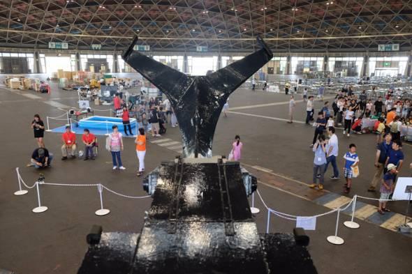 カブトムシ型巨大ロボット「カブトム RX-03」
