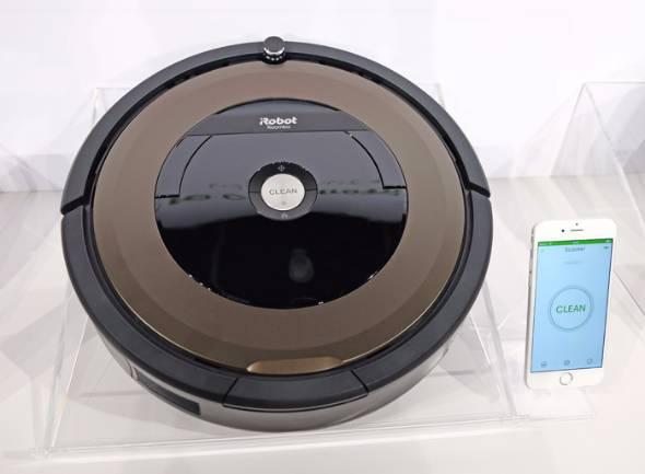 ロボット掃除機「ルンバ」新機種Wi-Fi