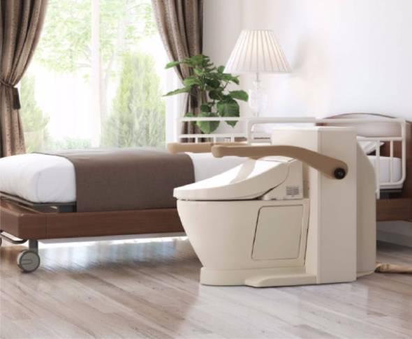 TOTO「ベッドサイド水洗トイレ」