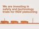 英政府、トラック隊列走行(プラトーニング)の公道テストを2018年開始へ