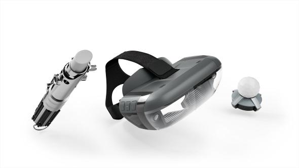 「Star Wars : Jedi Challenges」の内容物