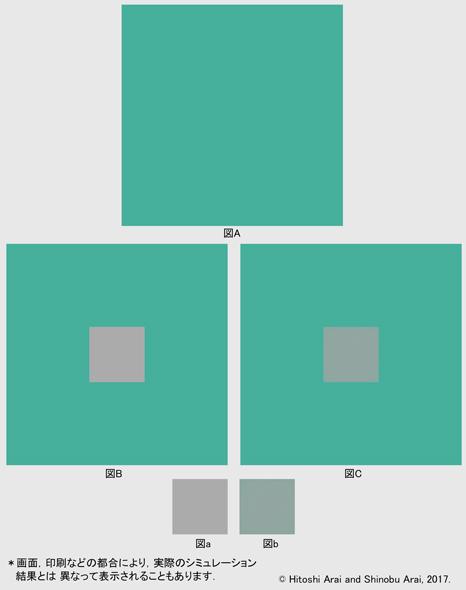 c9f817789c4 筆者らの視知覚にカスタマイズした数理モデルによる、色の同時対比を加味した色の計算