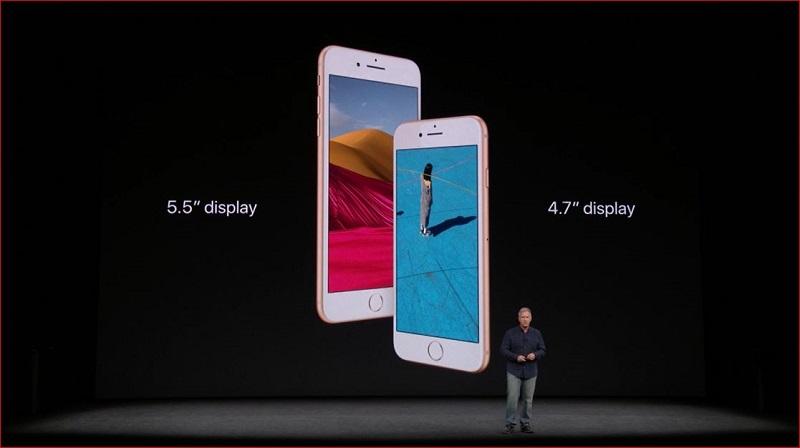 Apple、「iPhone 8」「iPhone 8 Plus」発表 新色、ワイヤレス充電対応