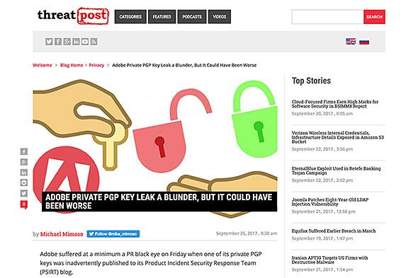 Adobe PGP Key