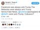 トランプ大統領の「Facebookは反トランプ」ツイートにザッカーバーグCEOが反論