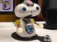 "CEATEC JAPAN 2017:「キュージくん」の弟分? バンナムの""褒めて伸ばす""AIロボット「キューシロー」"