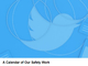Twitter、アカウント凍結や嫌がらせ対策の今後のスケジュールを公開