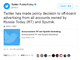 Twitter、ロシア主要2メディアの広告締め出し