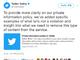 Twitter、同意のないヌードなどのコンテンツ投稿対策の詳細を説明