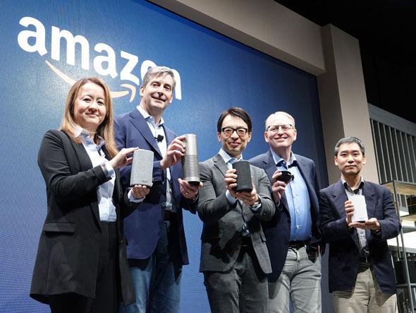 日本上陸「Amazon Echo」3機種の違いは? 他社とどう差別化する?