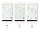 Googleマップ、目的によって表示が変わるスッキリしたデザイン変更