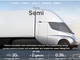 Teslaの自動運転も可能な電気トラック「Semi」を2019年生産開始へ