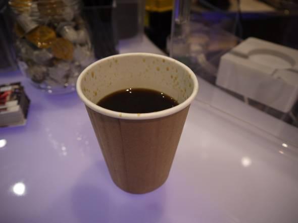 変なカフェ